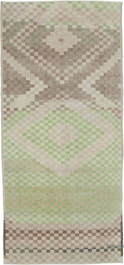 "Turkish Vintage Rug - 4' 4"" x 9' 6"" (52 in. x 114 in.)"