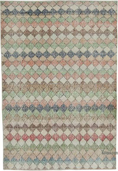 El Dokuma Vintage Halı - 150 cm x 216 cm