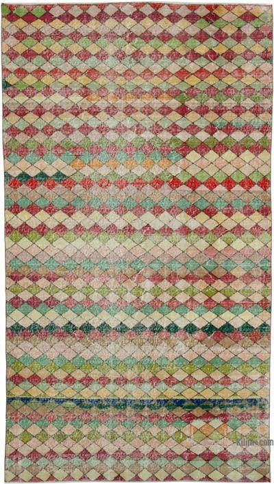 "Turkish Vintage Rug - 5' 8"" x 10'  (68 in. x 120 in.)"