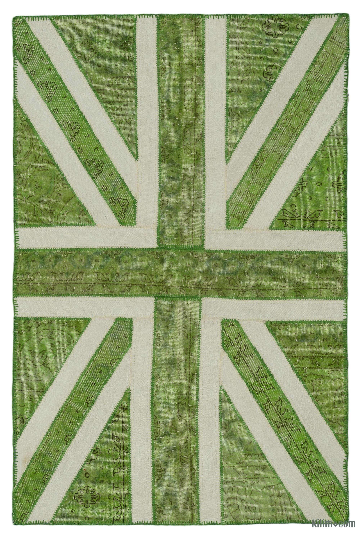 Patchwork British Flag Rug