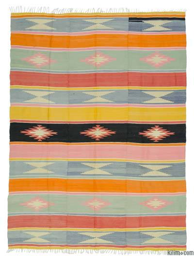 Alfombra Vintage Manisa Kilim - 198 cm x 270 cm