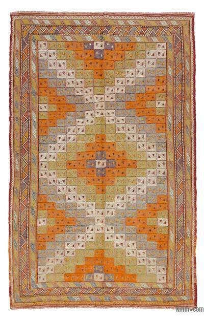 Alfombra Vintage Fethiye Kilim - 173 cm x 270 cm