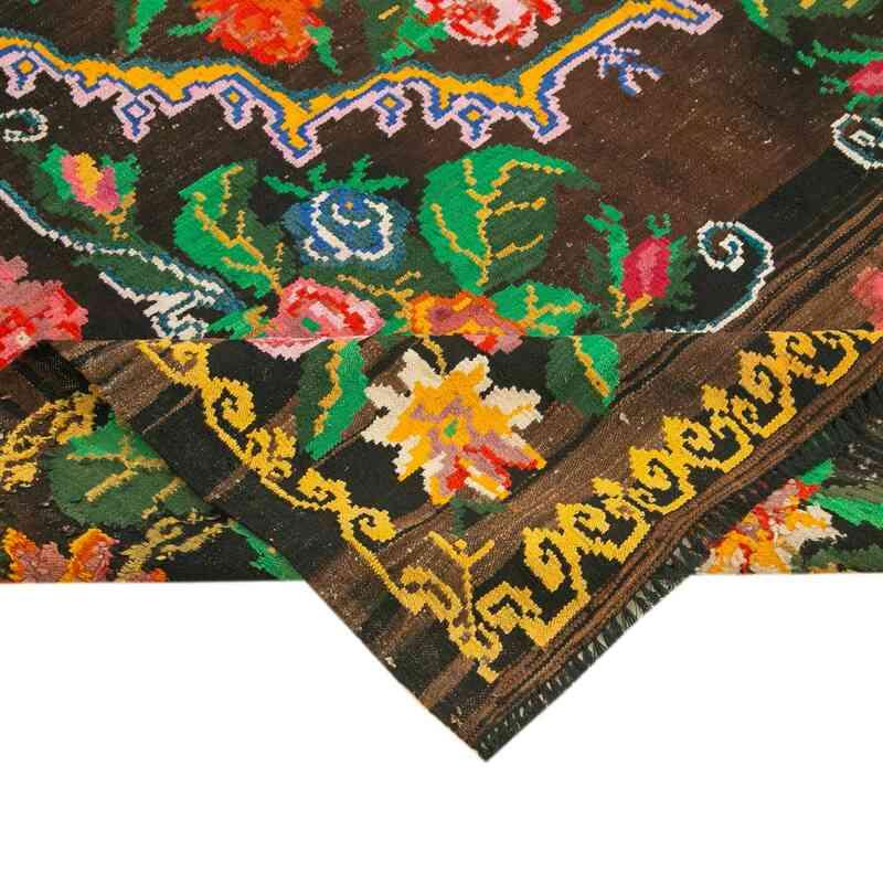 Çok Renkli Vintage Moldova Kilimi - 210 cm x 294 cm - K0038942