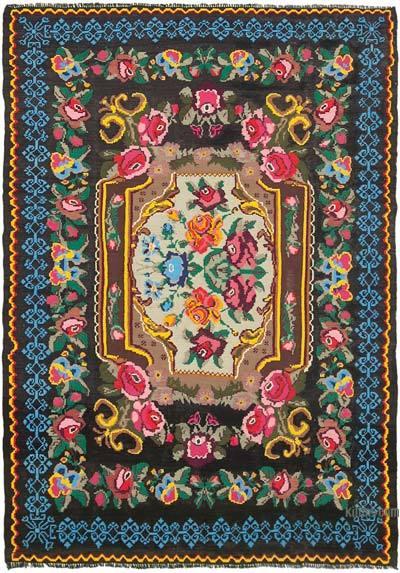 Vintage Moldova Kilimi - 216 cm x 300 cm