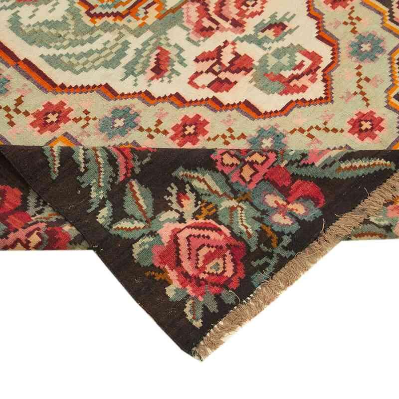 Çok Renkli Vintage Moldova Kilimi - 183 cm x 274 cm - K0038952
