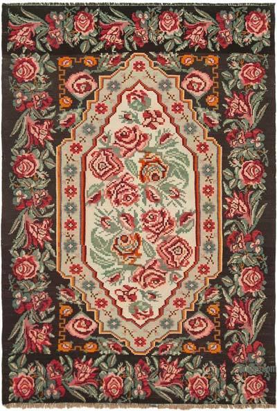 Alfombra Vintage Moldovan Kilim - 183 cm x 274 cm