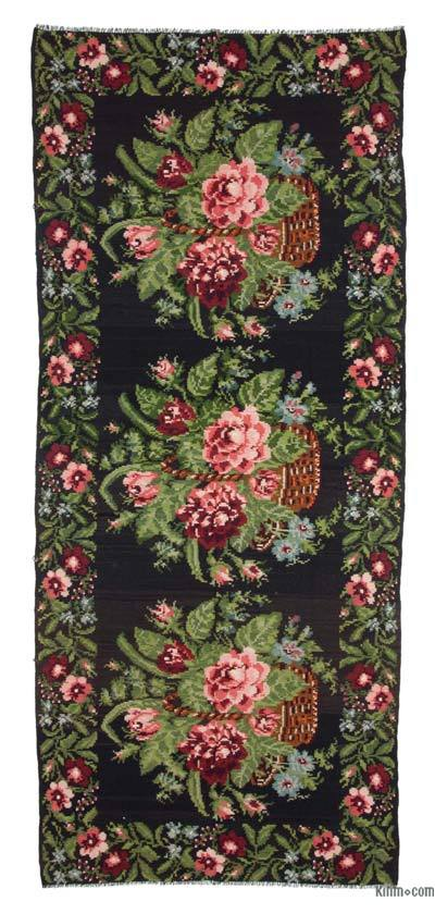Alfombra Vintage Moldovan Kilim - 179 cm x 420 cm