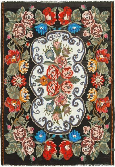Vintage Moldova Kilimi - 205 cm x 292 cm