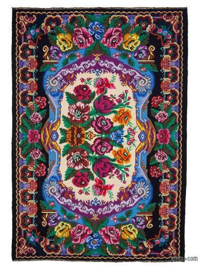Alfombra Vintage Moldovan Kilim - 230 cm x 340 cm