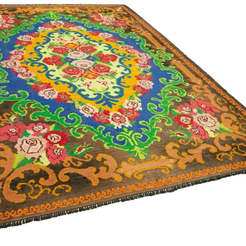 Multicolor Alfombra Vintage Moldovan Kilim - 210 cm x 313 cm - K0039000