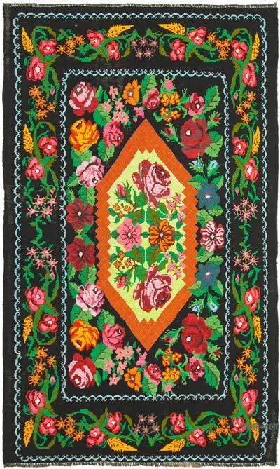 Vintage Moldova Kilimi - 192 cm x 310 cm