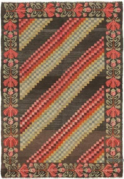 Vintage Moldova Kilimi - 138 cm x 195 cm