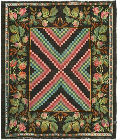 Alfombra Vintage Moldovan Kilim - 166 cm x 194 cm