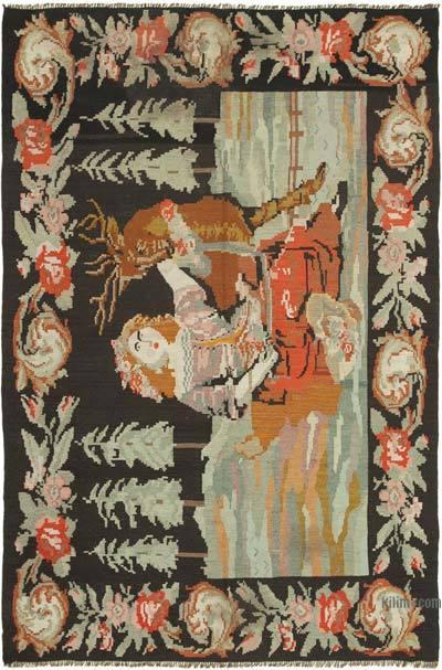 Alfombra Vintage Moldovan Kilim - 172 cm x 256 cm