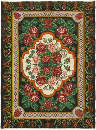 Vintage Moldova Kilimi - 228 cm x 310 cm