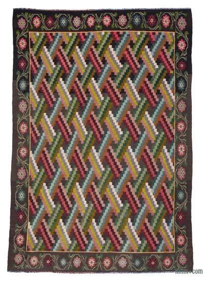 Vintage Moldova Kilimi - 198 cm x 297 cm