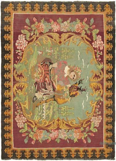 Vintage Moldova Kilimi - 190 cm x 260 cm