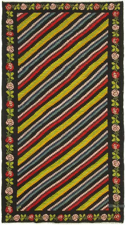 Vintage Moldova Kilimi - 173 cm x 310 cm