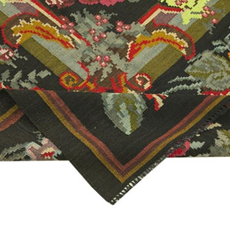 Çok Renkli Vintage Moldova Kilimi - 218 cm x 338 cm - K0039111