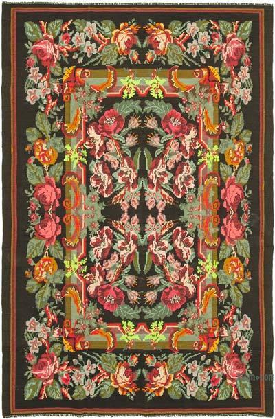 Alfombra Vintage Moldovan Kilim - 218 cm x 338 cm