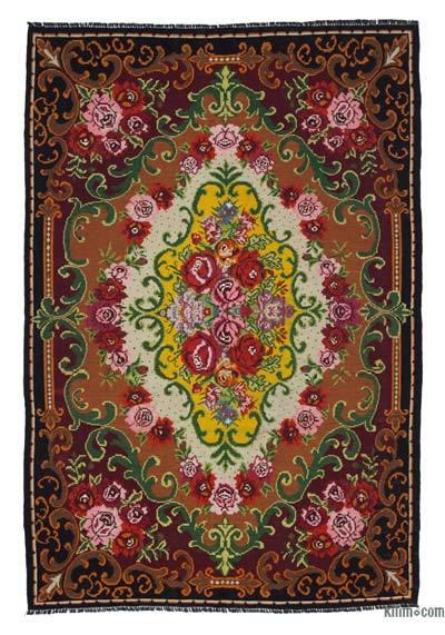 Vintage Moldova Kilimi - 200 cm x 296 cm