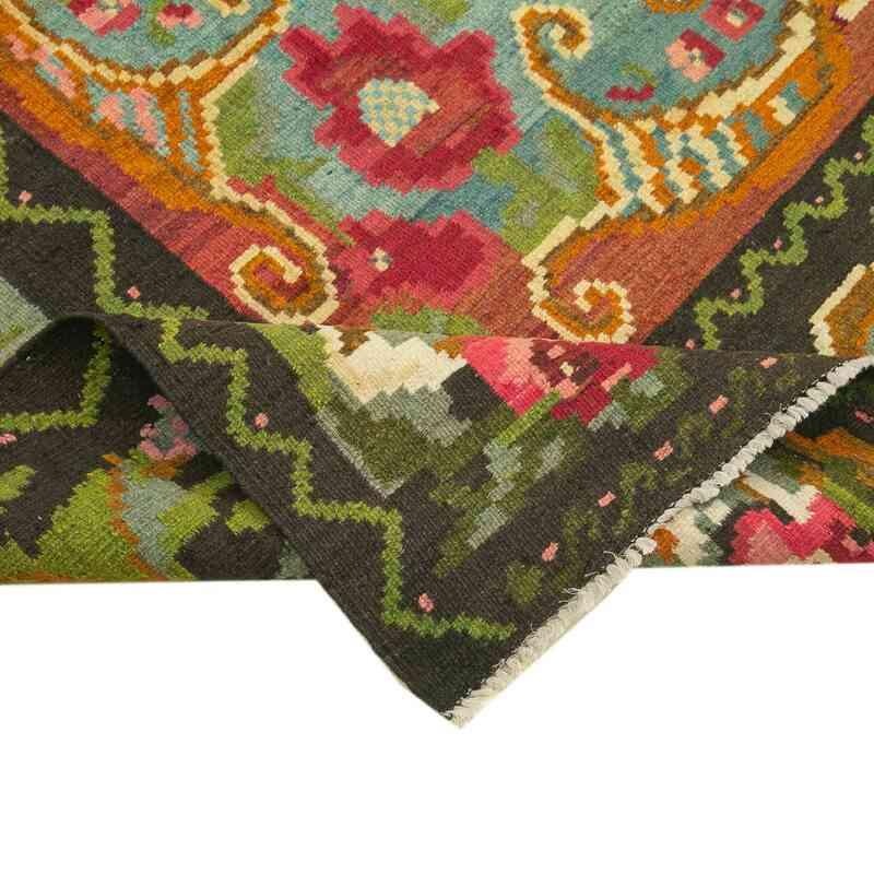 Çok Renkli Vintage Moldova Kilimi - 190 cm x 278 cm - K0039117