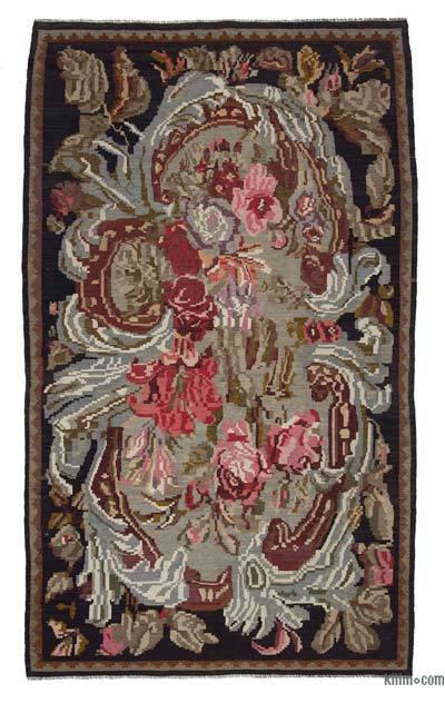 Alfombra Vintage Moldovan Kilim - 180 cm x 310 cm