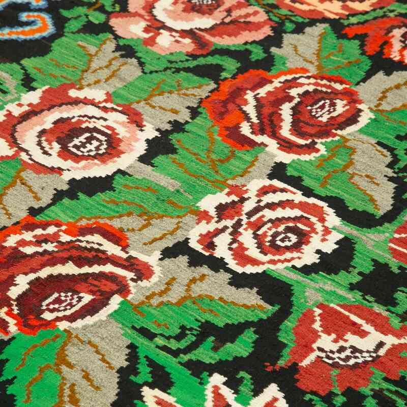 Çok Renkli Vintage Moldova Kilimi - 197 cm x 274 cm - K0039131
