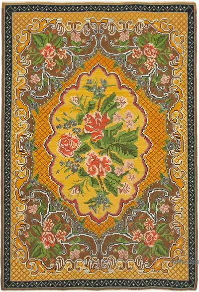 Vintage Moldova Kilimi - 192 cm x 281 cm