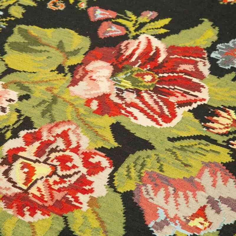 Çok Renkli Vintage Moldova Kilimi - 173 cm x 310 cm - K0039142