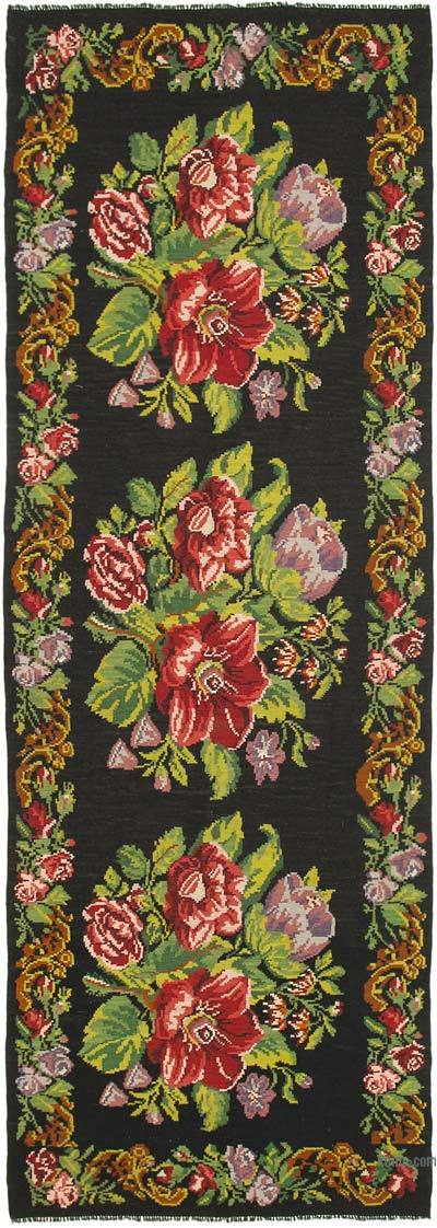 "Vintage Handwoven Moldovan Kilim Area Rug - 6'  x 17' 5"" (72 in. x 209 in.)"