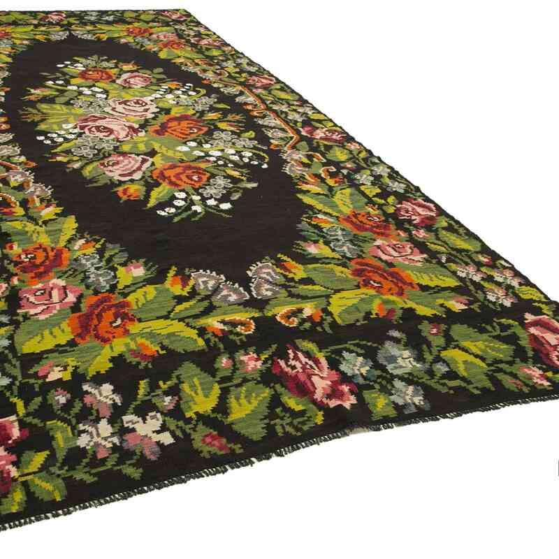 Çok Renkli Vintage Moldova Kilimi - 210 cm x 513 cm - K0039149