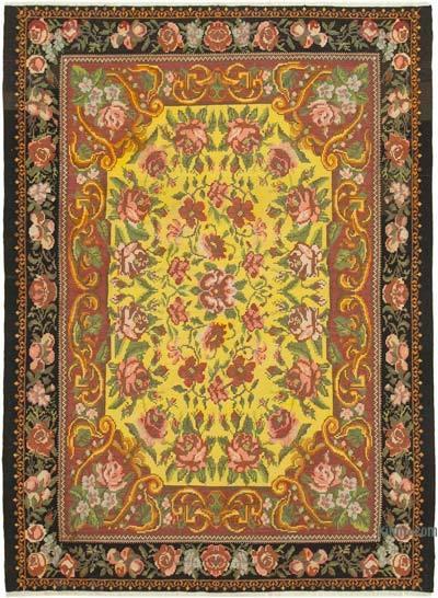 Vintage Moldova Kilimi - 232 cm x 305 cm
