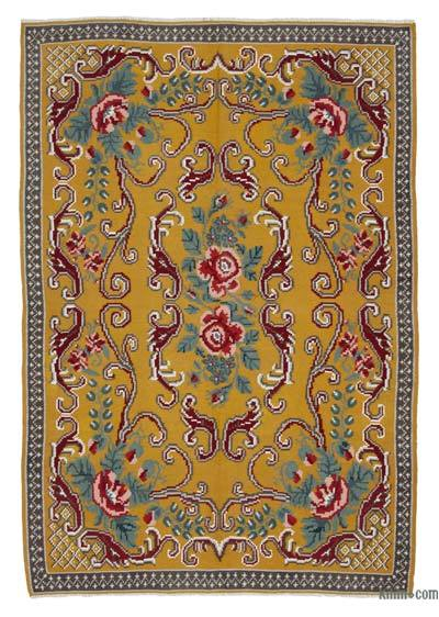Vintage Moldova Kilimi - 167 cm x 243 cm