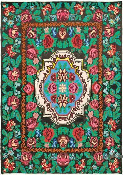 Vintage Moldova Kilimi - 200 cm x 278 cm