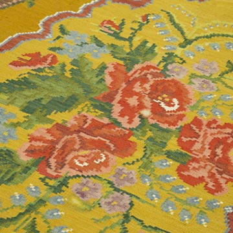 Çok Renkli Vintage Moldova Kilimi - 200 cm x 297 cm - K0039167