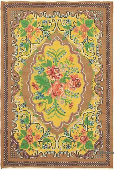 Vintage Moldova Kilimi - 195 cm x 291 cm