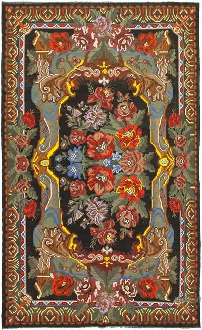 Alfombra Vintage Moldovan Kilim - 220 cm x 361 cm