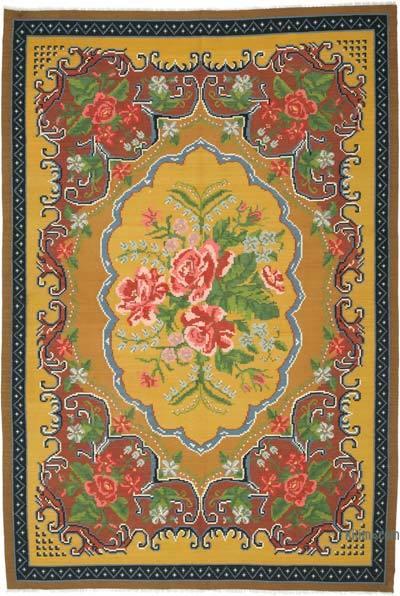 Alfombra Vintage Moldovan Kilim - 198 cm x 295 cm