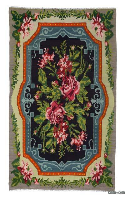 Vintage Moldova Kilimi - 174 cm x 295 cm