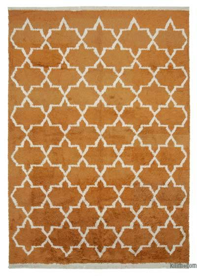 "New Contemporary Hand-Knotted Wool Area Rug - 8' 11"" x 12' 8"" (107 in. x 152 in.)"