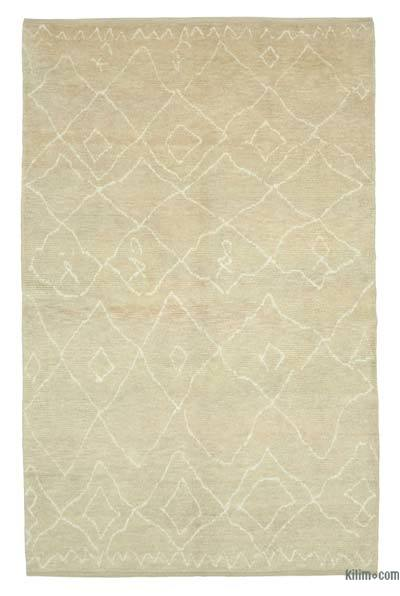 "New Contemporary Hand-Knotted Wool Area Rug - 6'6"" x 10'2"" (78 in. x 122 in.)"