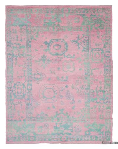 "New Contemporary Hand-Knotted Wool Area Rug - 7' 9"" x 9' 11"" (93 in. x 119 in.)"