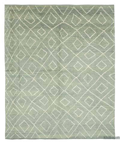 "New Contemporary Hand-Knotted Wool Area Rug - 8' 8"" x 10' 10"" (104 in. x 130 in.)"