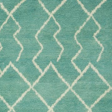 """New Contemporary Hand-Knotted Wool Area Rug - 7' 6"""" x 9' 4"""" (90 in. x 112 in.) - K0039271"""