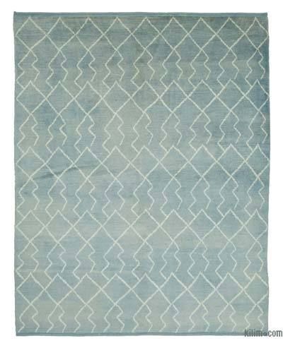 "New Contemporary Hand-Knotted Wool Area Rug - 7'9"" x 9'7"" (93 in. x 115 in.)"
