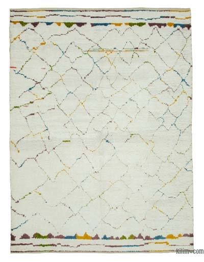 "New Contemporary Hand-Knotted Wool Area Rug - 8' 3"" x 11' 4"" (99 in. x 136 in.)"