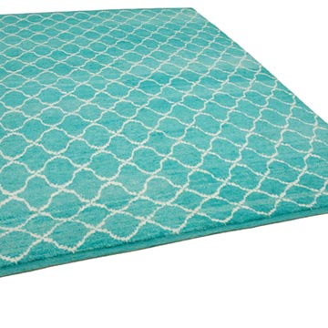 """New Contemporary Hand-Knotted Wool Area Rug - 7' 9"""" x 10' 10"""" (93 in. x 130 in.) - K0039301"""