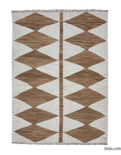 "New Contemporary Handwoven Kilim Rug - 8' 2"" x 10' 10"" (98 in. x 130 in.)"