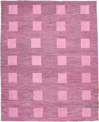 "New Contemporary Handwoven Kilim Rug - 10' 2"" x 13'  (122 in. x 156 in.) - Vintage Yarn"